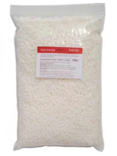 Kerax Kerawax 4105 Blended Paraffin Container Wax Pastilles For Candle Making (2kg)