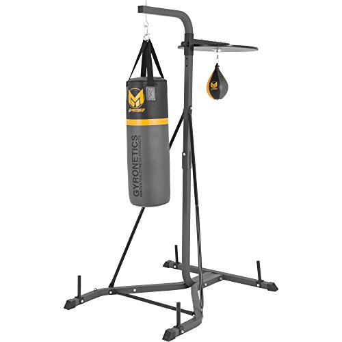 Gyronetics E-Series Box Station with Punch Bag and Punch Ball