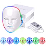 LED Masque Visage 7 Couleur, Mysweety LED Machine Facial Pour Acne Anti Ride Peau Rajeunissement Traitement Beauté Photon Light Therapy