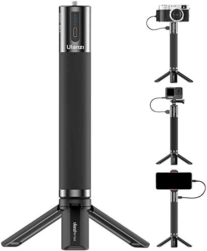 ULANZI BG 3 Battery Handle Grip 10000mAh Power Bank Portable Charger Tripod Monopod for DLSR product image