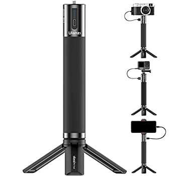 Battery Handle Grip ULANZI BG-3 10000mAh Power Bank Grip Portable Charger Tripod Monopod for DLSR Action Camera Smartphone Vlogging Time-Lapse Shooting Live Streaming Filmmaking