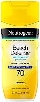 Neutrogena Beach Defense Broad Spectrum Sunscreen Body Lotion, 6.7oz