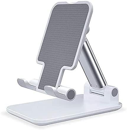 Suporte de Mesa para Celular Ajustável Articulado Tablet Smartphone (Branco) [Sky Dreams]