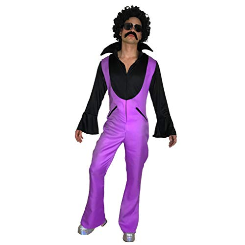 sowest Disfraz de disfraz para hombre de los aos 70, 1970, 80, sbado, noches de discoteca, fiebre