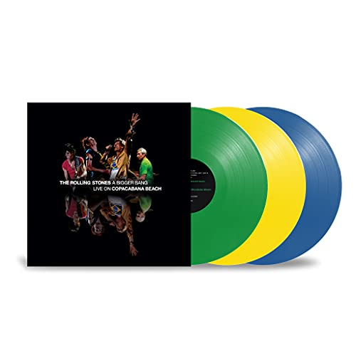 The Rolling Stones: A Bigger Bang, Live on Copacabana Beach 2006 (Ltd. Colour 3LP) [Vinyl LP]