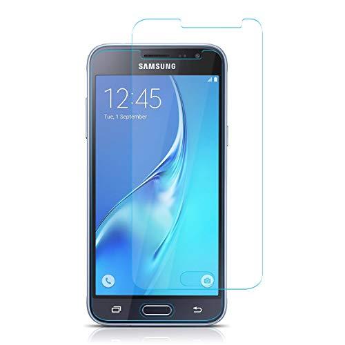 HongMan [2 Stück] Panzerglas Folie für Samsung Galaxy J2 Core Schutzfolie, Bildschirmschutzfolie Mit Frei von Fingabdrücken & Öl, 9H Festigkeit, 0,26mm Ultra-klar, Anti-Bläschen, Anti-Kratzen