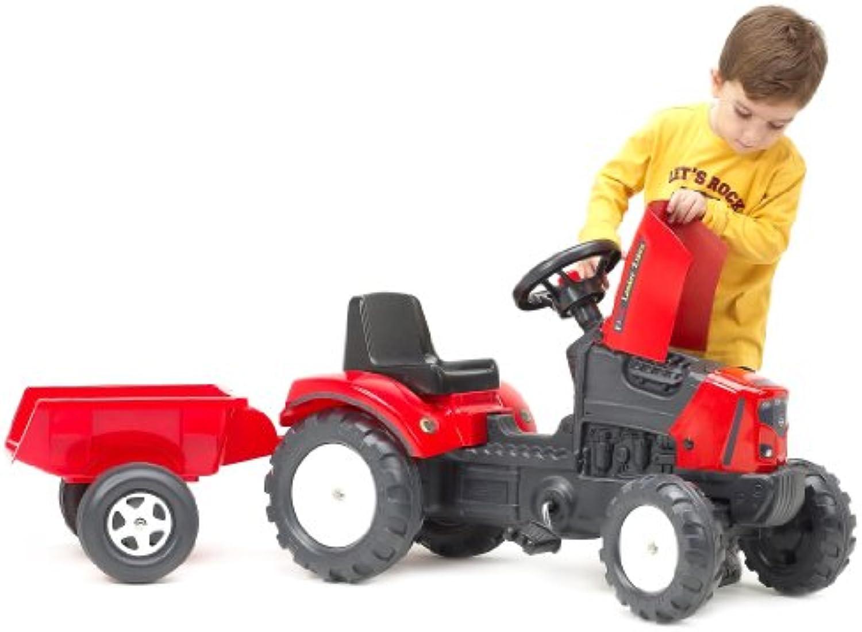 Falk 133x 42x 54cm Lander Traktor und Anhnger