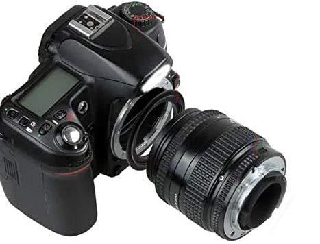 Digital HD - Anillo de inversión óptico compatible con Nikon Reflex de todas las series D3500 D850 D7500 D5600 D3400 D5 D500 D750 D7299 D810 D5300 D610 etc. (58 mm - Nion Ai Af todos)