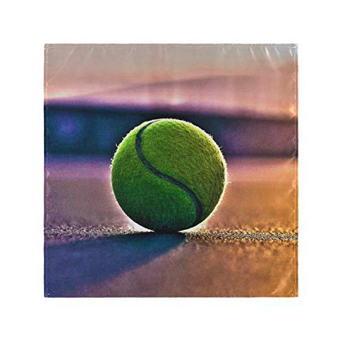 XiangHeFu Servilletas de Tela Lavables Reutilizables para Bodas Cena de Mesa de cancha de Tenis fácil de Limpiar