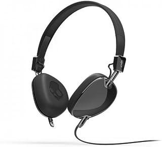 SKULLCANDY Navigator - Auriculares de Diadema Abiertos (con micrófono), Negro