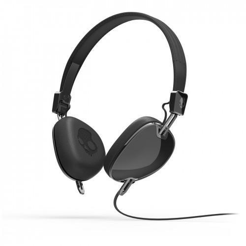 41wj41HdEgL - Skullcandy Navigator On-ear Headphone with Mic3, Black