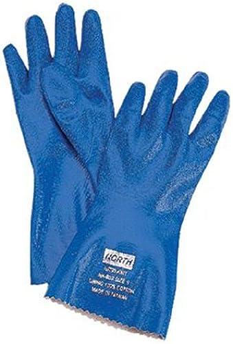 encuentra tu favorito aquí Seguridad del Norte 068-NK803   9 9 9 Nitri-Knit Guante Dippednitrile-Interlock Knitte  barato