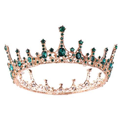 XIANGAI Strass Conception Nuptiale Bijoux de Cheveux Main Cheveux Fleur mariée Bandeau Headpiece Accessoires Bijoux