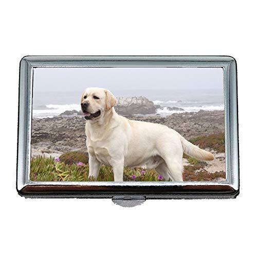 Zigarettenetui Leichtgewicht, Französisch Bulldog Labrador Hund hd, Kreditkartenetui für Frauen Männer