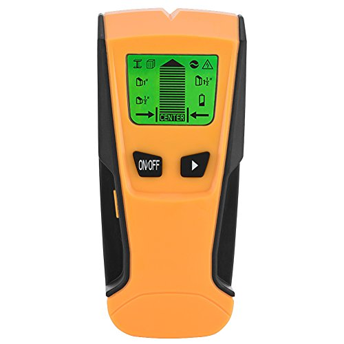3 in 1 Live Wire Metal Detector Stud Wood Wall Center Scanner Finder Metal AC Tool Kit with LCD Screen