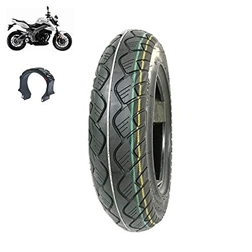 Neumáticos scooter eléctrico, neumáticos acero a prueba explosiones 3.50-10, tipo funcionamiento sin gas, 8 capas engrosamiento, neumáticos antideslizantes resistentes al desgaste motocicletas