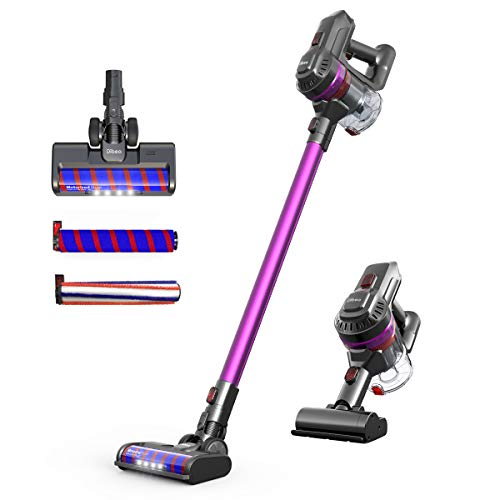 Dibea Cordless Vacuum Cleaner Stick Vacuums Cleaner 22KPa Powerful Electric