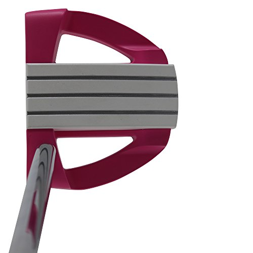 Bionik 701 Pink Golf Putter Right Handed Mallet Style with Alignment Line Up Hand Tool 33 Inches Senior Women's Perfect for Lining up Your Putts