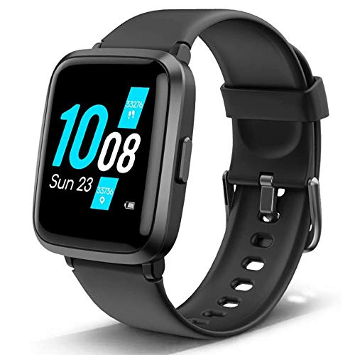 Lintelek Health & Fitness Smart Watch, Full-Touch Screen Activity Tracker with Blood Oxygen, Blood Pressure, Heart Rate, Sleep Monitor, Calorie&Step Counter for Man, Woman and kid