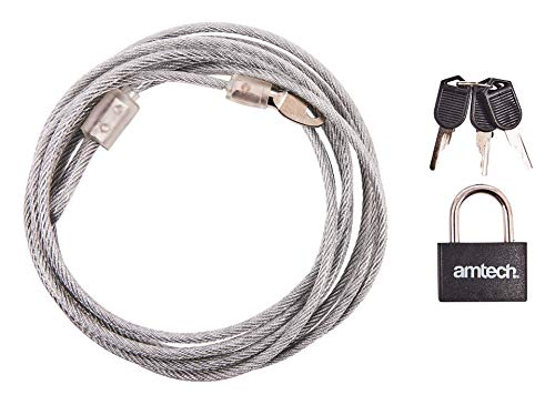 amtech 2 x security cable