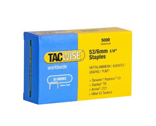 Tacwise 0331 - Caja 5000 grapas galvanizadas 53/6mm