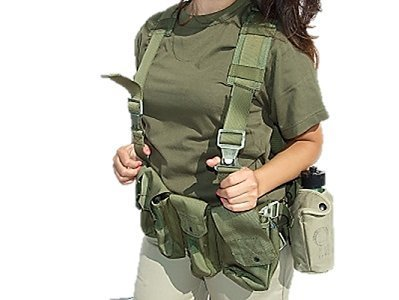 Tactical Vest - G.I. Combat Harness - IDF Army Special Force Recon