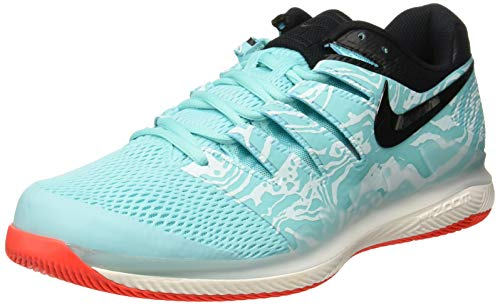 Nike Men's Zoom Vapor X Tennis Shoes (Aurora/Teal Tint/Phantom/Black ) 11.5 M US