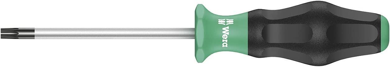 Wera 05031506001 1367 Torx Screwdriver for Torx Screws, TX 15 mm x 80 mm