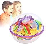 KXIUOA Bola de Laberinto, Bola de Laberinto de Rompecabezas, Bola de Laberinto de intelecto 3D IQ Balance Bola de Laberinto Juguetes Juego de Rompecabezas para niños Niños