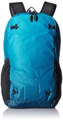 Jack Wolfskin Unisex-Erwachsene Halo 22 Pack Sport Sac a dos Sportrucksack, Blau (Aurora Blue), One Size