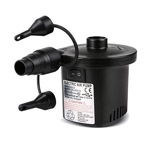 XINYUKEJI Bomba De Aire Eléctrica Portátil, Bomba De Aire para Colchones Inflables/deflactor...