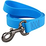 WAUDOG Waterproof Dog Leash 4 Ft - Heavy Duty Durable...