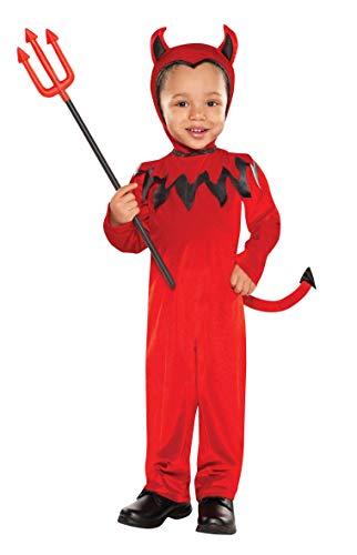 Déguisement Diable de Christy - pour Enfant - Taille 3-4 Ans