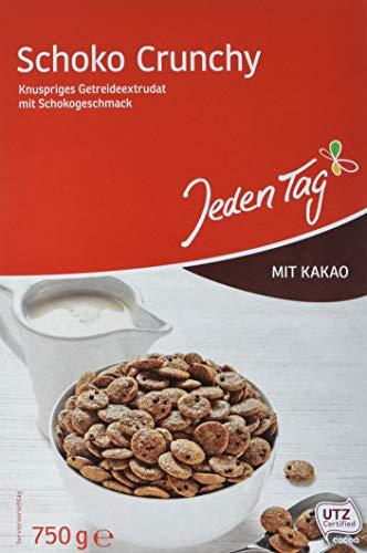 Jeden Tag Schoko Crunchy, 750 g