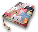 Fabric Novel Book Sleeve for Adult, Books Cover for Paperback, Cute...