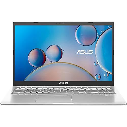 ASUS F515MA-BR040 - Ordenador portátil 15.6' HD (Celeron N4020, 4GB RAM, 256GB SSD, Intel UHD Graphics 600, Sin sistema operativo) Plata Transparente - Teclado QWERTY español