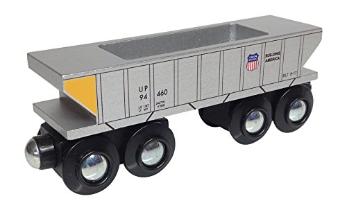 Choo Choo Track & Toy Co. - Union Pacific Hopper Car Wooden Train