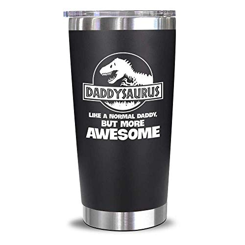 Gifts For Dad From Daughter, Son, Kids - Birthday Giftss For Dad , New Dad - Valentines Day Gifts For Dad, Husband, Men - Best Dad Bday Present Idea For a Father, Men, Him - Dad Mug, 20 Oz Tumbler