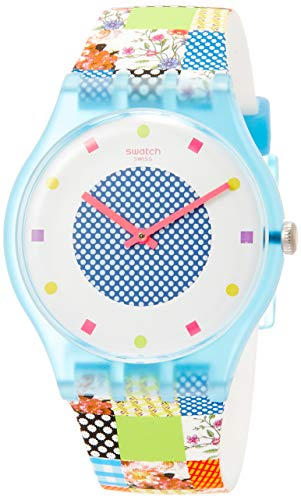 Swatch dameshorloge Quilted Time SUOS108