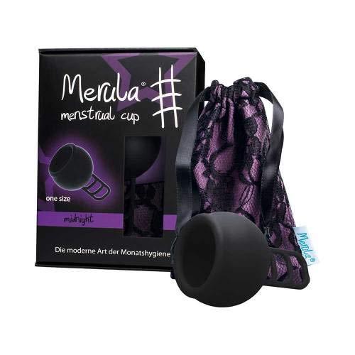 MERULA Menstrual Cup midnight schwarz 1 St