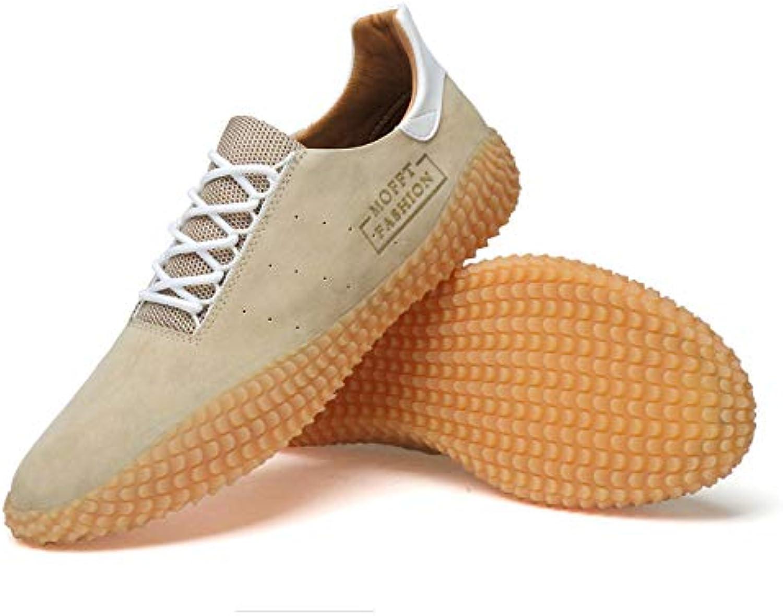 LOVDRAM Men'S Leather shoes Leather shoes Men Summer Korean Trend Casual shoes Men'S Wild Music shoes Men'S Fashion Sports shoes