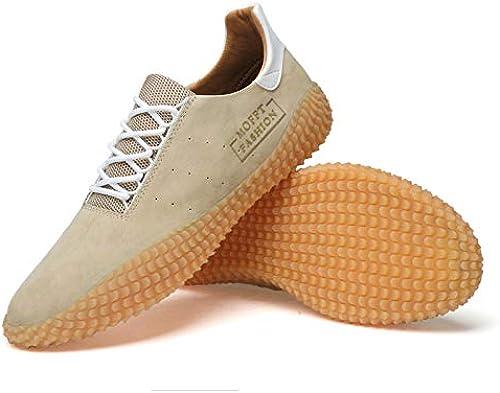 LOVDRAM Chaussures en Cuir pour Hommes Chaussures en Cuir Hommes été Coréenne Tendance Chaussures Casual Hommes Musique Sauvage Chaussures Mode Homme Chaussures De Sport