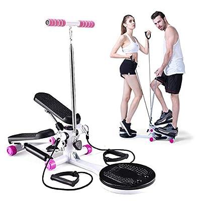 Amazon - Save 80%: PLENTOP Fitness Stepper Gym, Household Mute Armrest Multi-Function S…