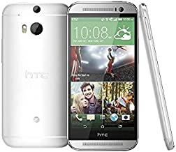 HTC M8-SILV One (32GB) - 4G LTE Unlocked Smartphone (Glacial Silver) (D132)