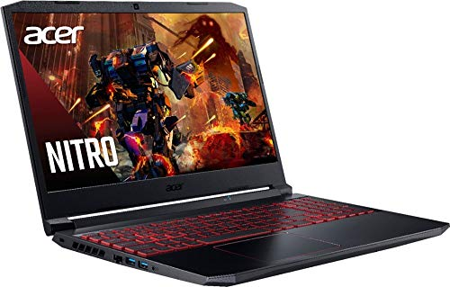 Acer - Nitro 5 15.6' Laptop - Intel Core i5 --10300H 8GB Memory - NVIDIA GeForce GTX 1650 - 256GB SSD - Obsidian Black