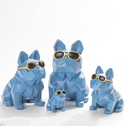 CHOUDOUFU Coin Salvadanaio Regalo Salvadanaio in Resina Creativa Bulldog Francese Risparmia Denaro Salvadanaio Ornamenti per La Decorazione della Casa