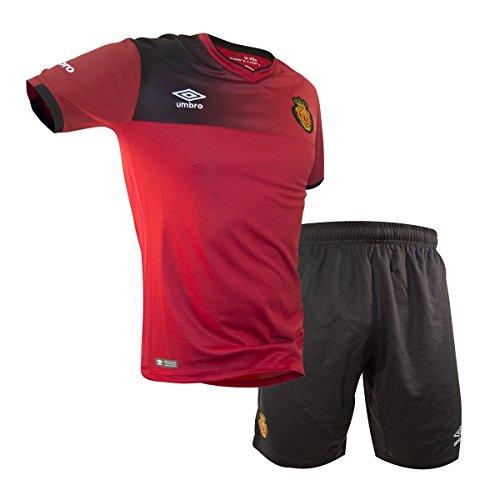 UMBRO RCD Mallorca Home Conjunto de Camiseta y pantalón, Hombre, Rojo, 12-18 Meses
