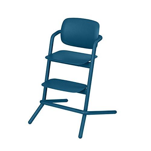 Cybex Gold Lemo hoge stoel kunststof/aluminium. Twilight Blue
