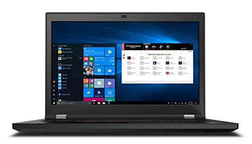 "Lenovo_ThinkPad_P53 Mobile Workstation Laptop (Intel i7-9750H, 32GB RAM, 1TB NVMe SSD + 1TB HDD, NVIDIA Quadro T1000 4GB, 15.6"" FHD, Windows 10 Pro) Professional Business Notebook Computer"