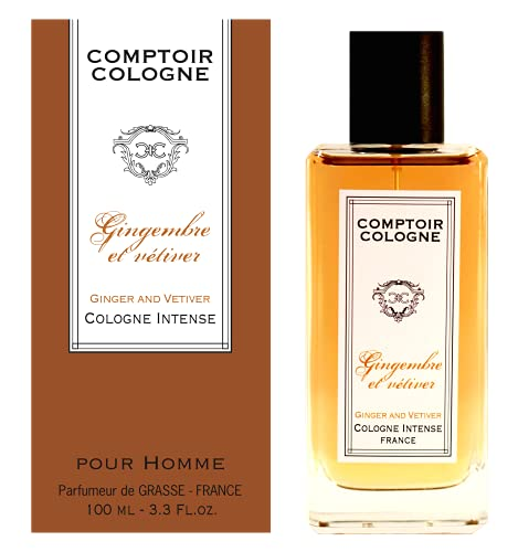 Comptoir Cologne Eau de Cologne Intense, Gingembre Vétiver, 100 ml